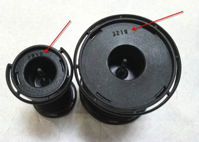 image of neuro hot roller serial number location