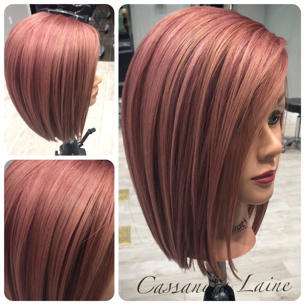 Rose Gold A New Take On Fall Hair Color John Paul