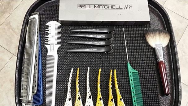 inside a freelance hairstylist s kit john paul mitchell systems