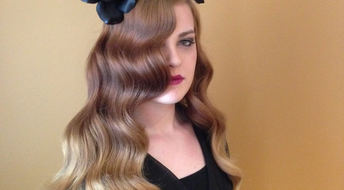 How To: Lana Del Rey Inspired Waves
