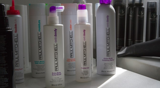 My Three Favorite Paul Mitchell Products