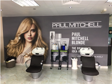 A day in the life of toby price on opening the dubai for A salon paul mitchell