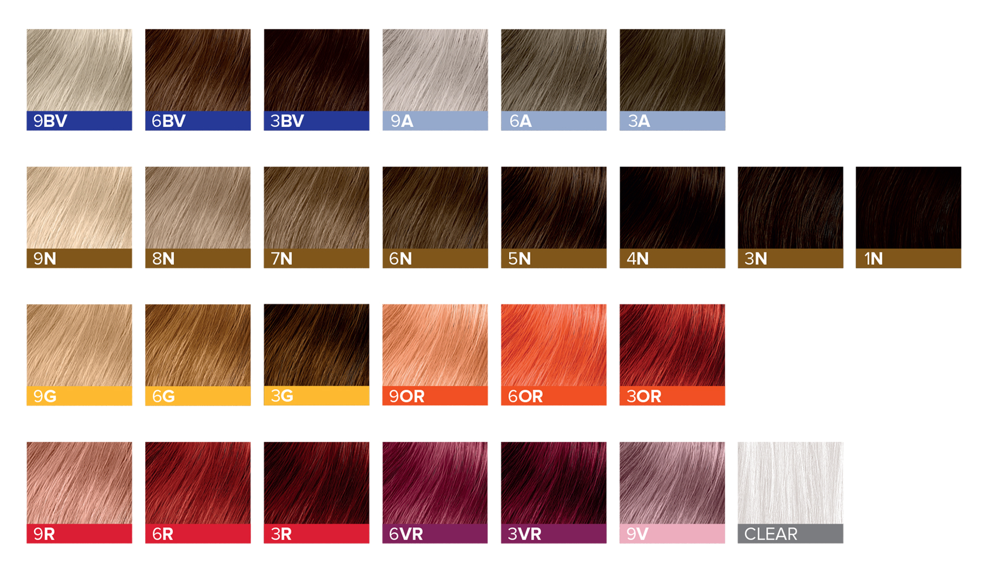 Ion Demi Permanent Hair Color Chart Dark Brown Hairs Of