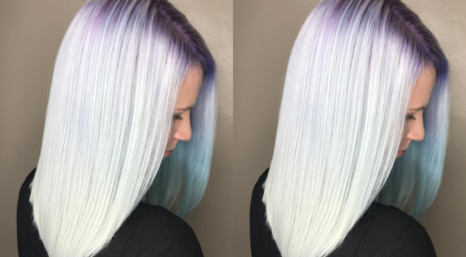 Colored Accents Spotted As Latest Hair Trend