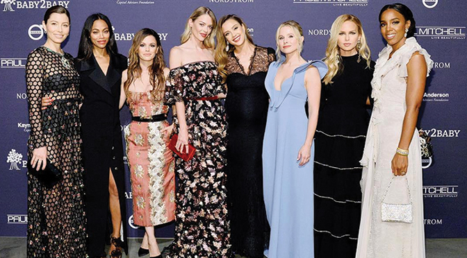 Hollywood's Leading Ladies Stun at 2017 BABY2BABY Gala